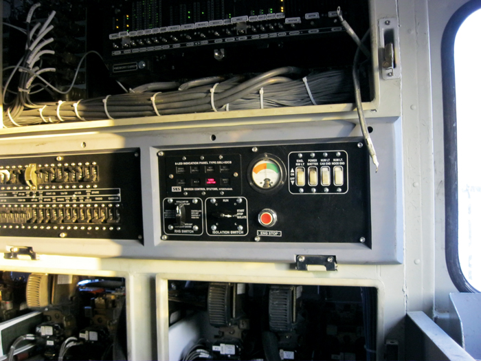 Installation of new microprocessor control systems on locomotives